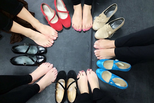Flamenco Dance Series {Intermediate} Monthly Program
