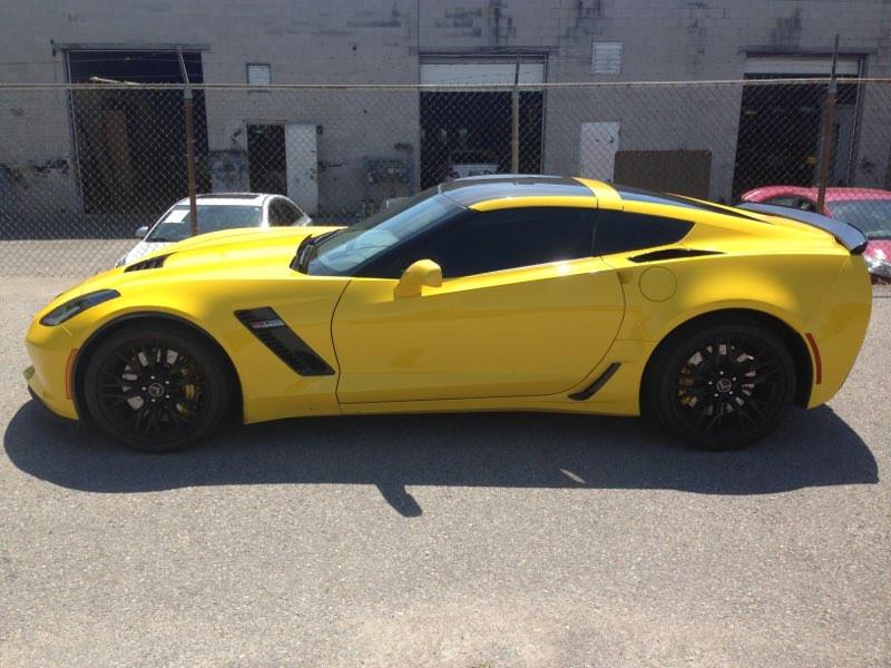 Corvette Z07 Yellow