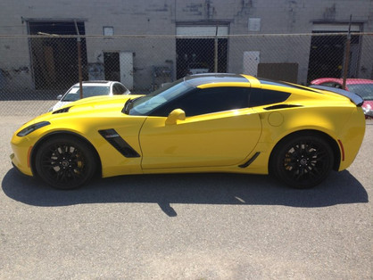 Corvette Z07 Yellow
