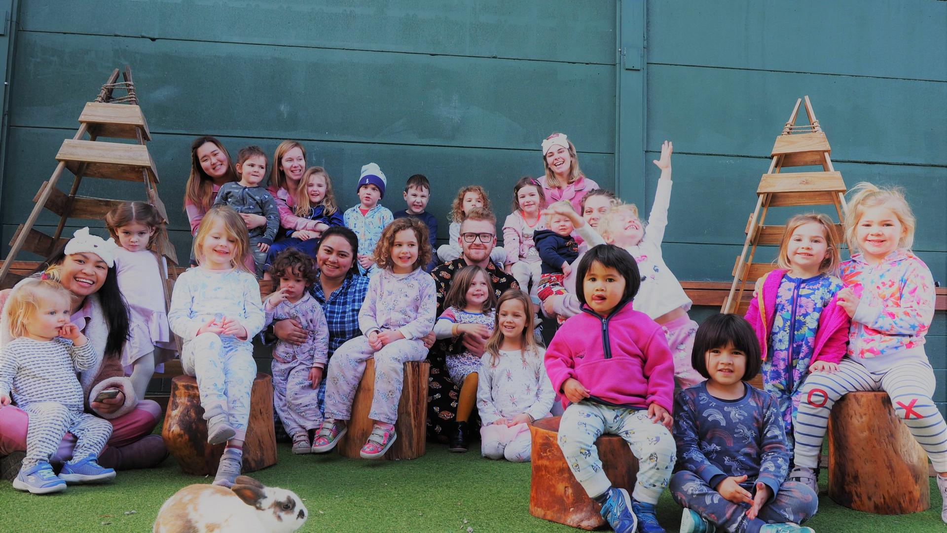 Pyjama week celebrations