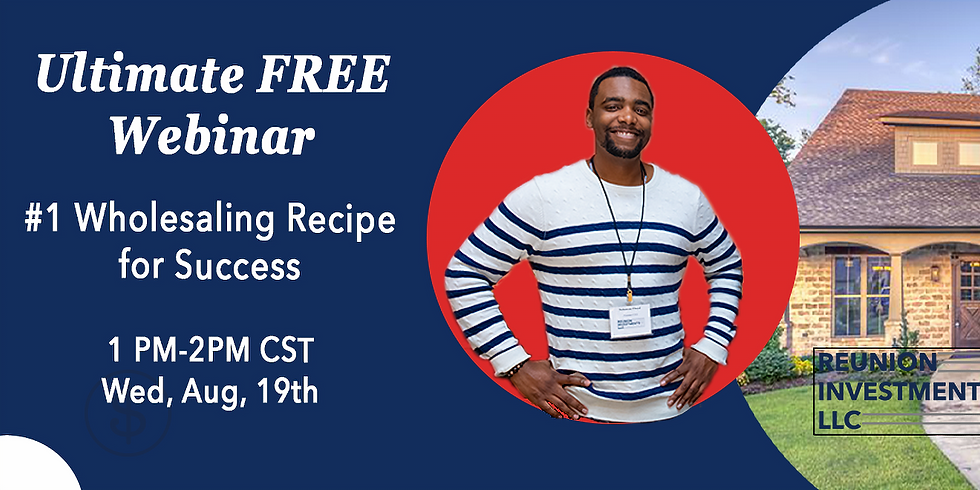 The #1 Wholesaling Recipe for Success