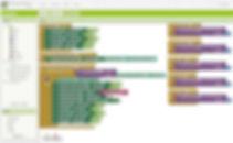 Visual programming mobile app