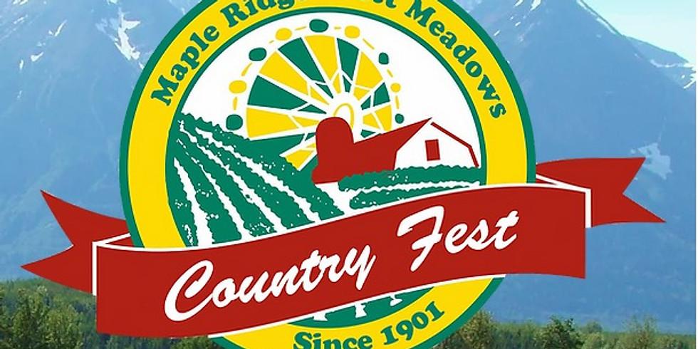 Maple Ridge / Pitt Meadows Country Fest