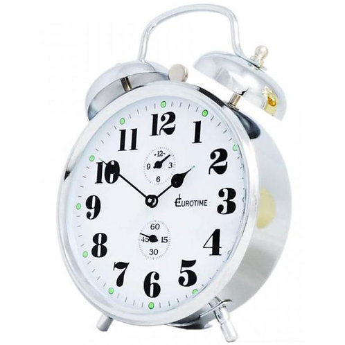 Reloj despertador Eurotime con campanilla
