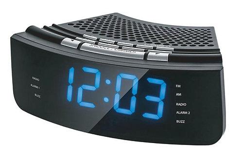 Radio Reloj Noblex Rj950 Am/fm Alarma Doble Entrada Auxiliar