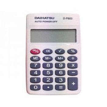 Calculadora Daihatsu De Bolsillo 10x6cm D-P 803 8 Dígitos