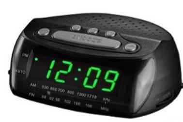Radio Reloj Despertador Alarma Am Fm Daza Snooze Sleep