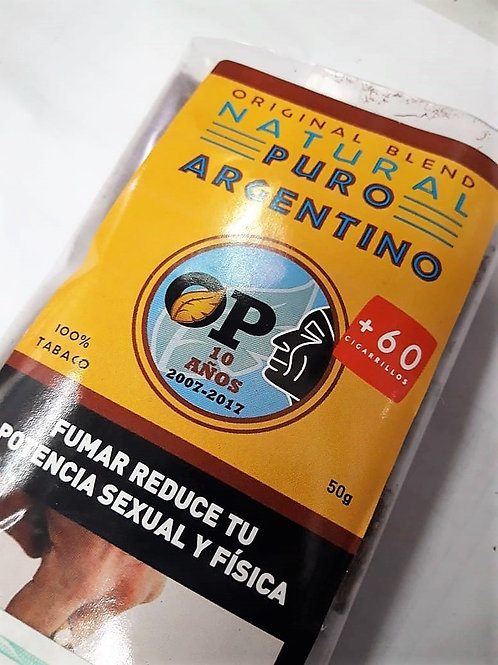 Tabaco para armar Puro Argentino x 50g