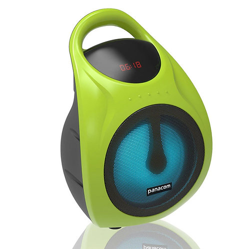 Parlante Panacom Sp-3050 2500w Bluetooth Microfono Luz Radio