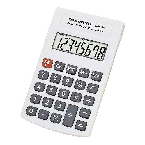 Calculadora Daihatsu D-P 806 de bolsillo