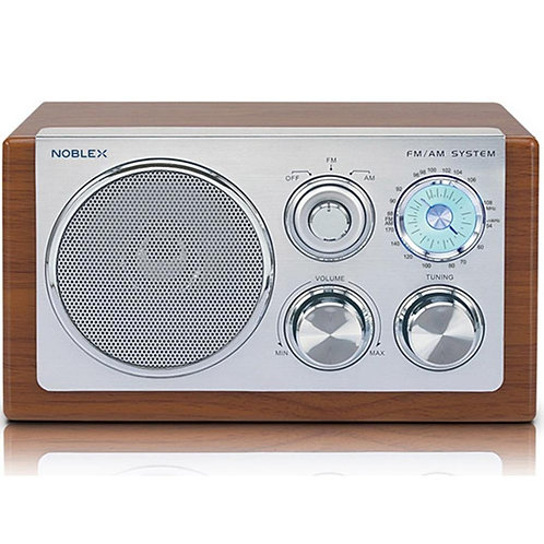 Radio Noblex Rx-40m Diseño Madera Retro Am/fm Vintage Nuevas