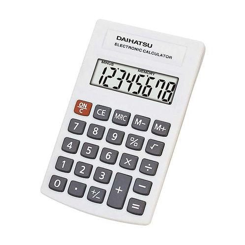 Calculadora Daihatsu De Bolsillo 10x6cm D-P803