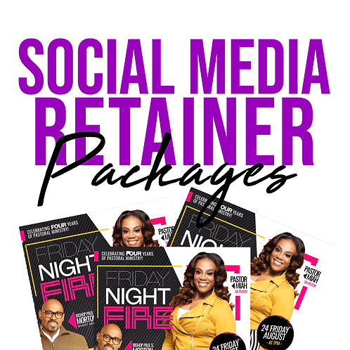 SOCIAL MEDIA RETAINER PACKAGE