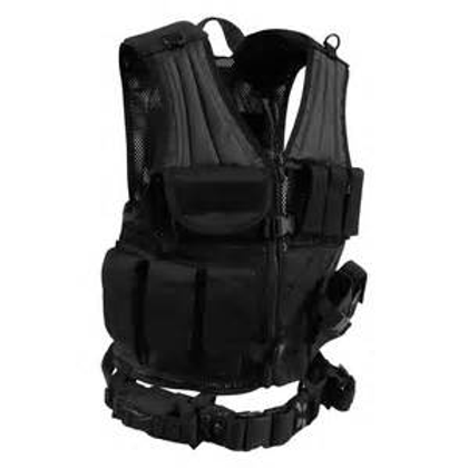 Cross Draw MOLLE Tactical Vest (Child  - Adult 3X) $72.99 - $119.99