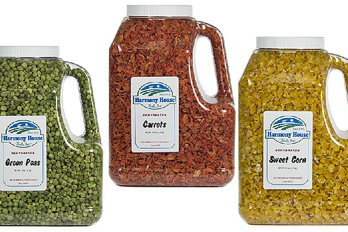 Vegetable Freeze Dried Family (Gallon Size)