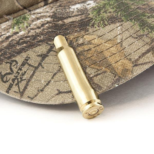 SEARCH  .308 Caliber Real Bullet Hat Clip in Brass .308 CALIBER REAL BULLET HAT