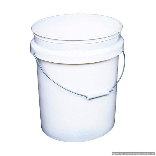 5 Gallon Food Grade Bucket (With or Without Lid)
