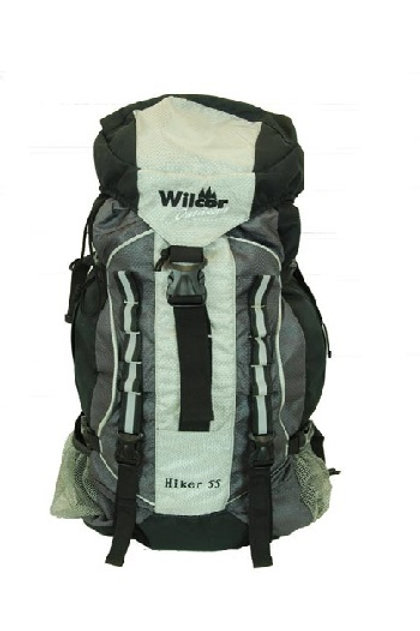 HIKER 55 PACK OVERNIGHT DELUXE BL/GREY