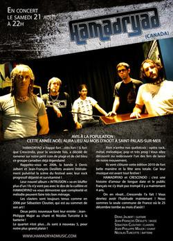 2010 - Crescendo program page