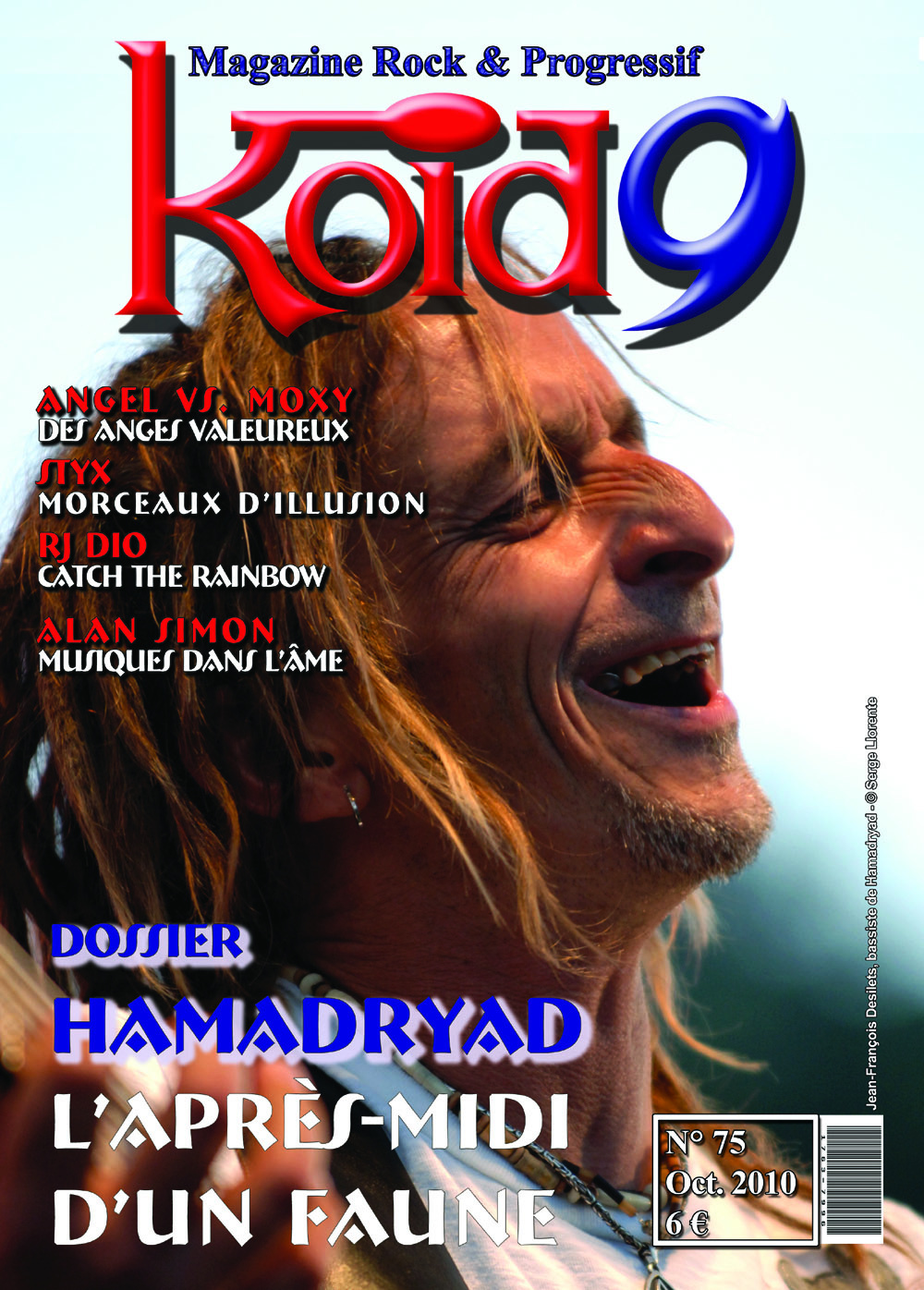 Couverture Koid9 #75 - France