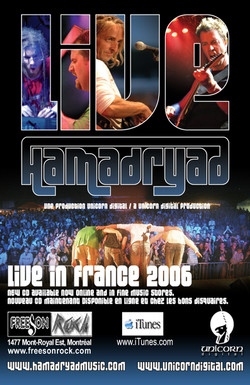 Hamadryad_11x17 Live2006_Poster