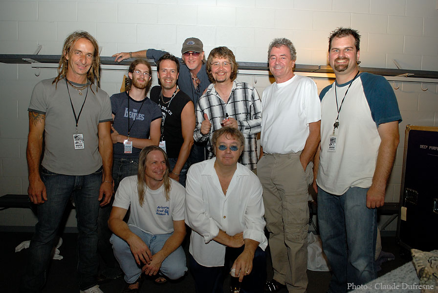 Back Stage w/Deep Purple - 2007