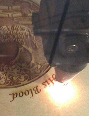 2a. Laser Close-up