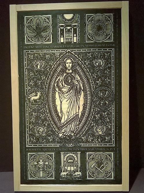 Custom Order: Most Sacred Heart of Jesus - Sacratissimi Cordis Iesu