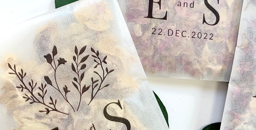 Foliage Personalised Packs