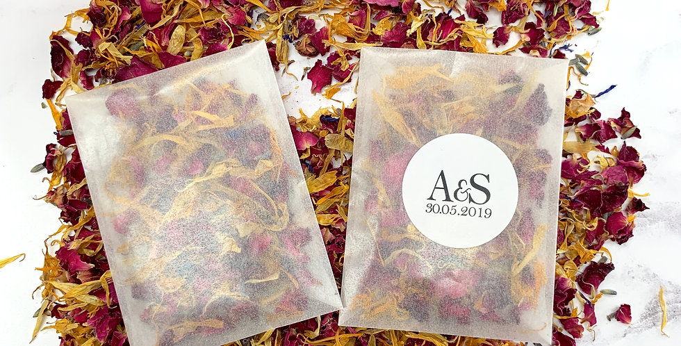 Personalised Initials Packets