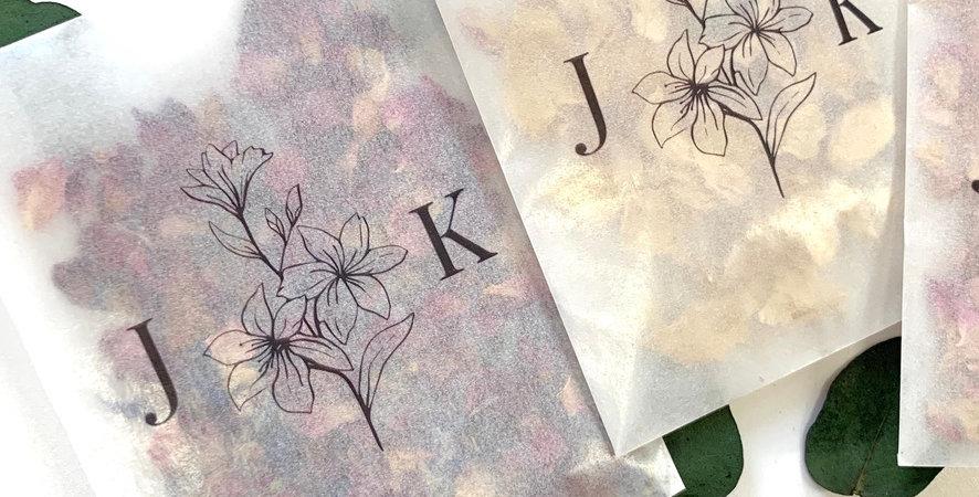 Floral Personalised Packs