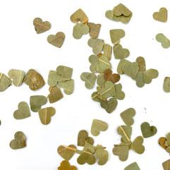 Dried Leaf Hearts