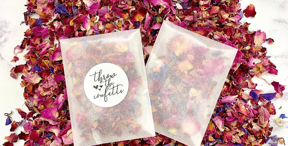 Rose Petal Mix Packets