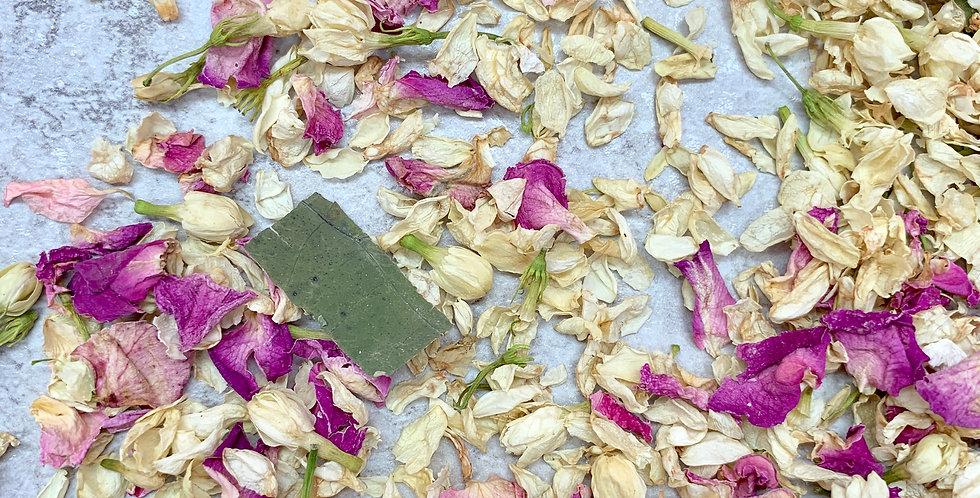 Jasmine Buds, Petals and Rose