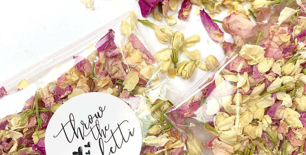 Jasmine Bud and Rose Packets