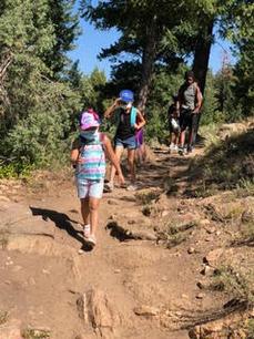 Hiking at Mt. Falcon