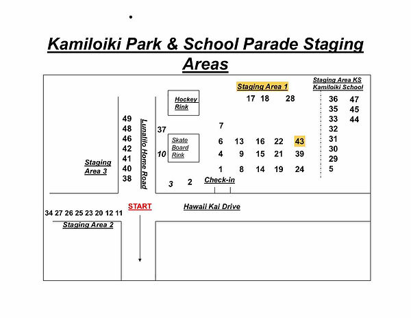 Kamiloiki Park and School Staging Areas