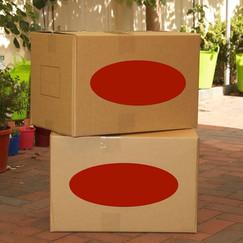 Medium Cardboard Packing Box | 77 Litres