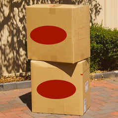 Large 150 litre Packing Box