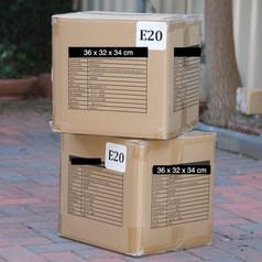 Medium Cardboard Packing Box