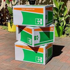 Medium Cardboard Moving Box - Multiple Available
