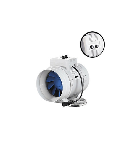 BLAUBERG TURBO-G MIXED FLOW INLINE S/C + THERMOSTAT 150MM -  315MM