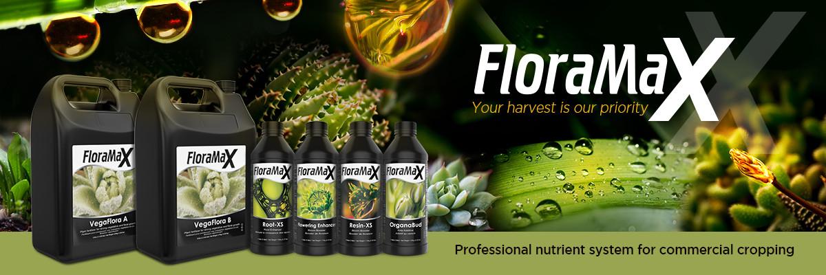 FloraMax Nutrient Range