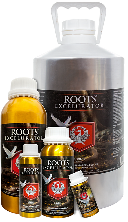 HOUSE & GARDEN ROOTS EXCELURATOR 100ml / 250ml / 500ml / 1L / 5L