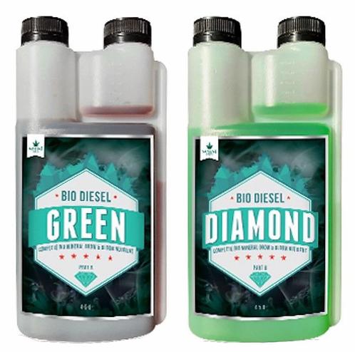 BIO DIESEL GREEN DIAMOND ( A + B Set ) 1L / 5L / 20L