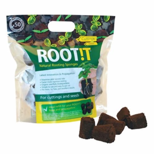 ROOTIT - NATURAL ROOTING SPONGES 50 REFILL BAG