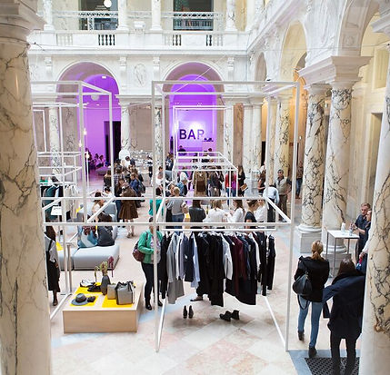 Design des Pop Up Stores für Zalando im Weltmuseum