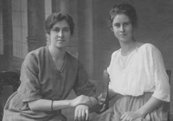Jeanne et Yvonne Tschopp