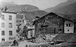 Centre du village/1910