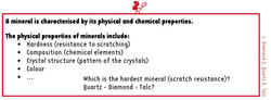A mineral is...